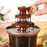 Home Improvement - Magic Show/Attractive Tainless Steel 3-Tier Chocolate Fountain Fondue CJ43