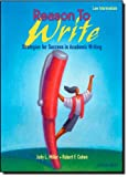 Reason to Write Low Intermediate: Strategies for Success in Academic Writing (0194367711) by Judy L. Miller