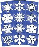 Roylco Super Snowflake Stencils (12 Per Pack)