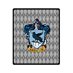 58x80 Inch Harry Potter Ravenclaw Travel Blanket Airplane