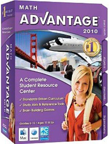 Math Advantage 2010 Grades: 6-12 Ages: 11+ (bilingual software)
