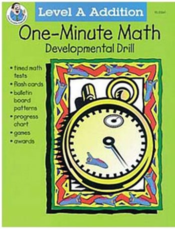 One-minute Math Addition 0-10 - 1