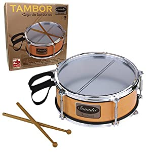 Reig Snare Drum with Drumsticks and Strap