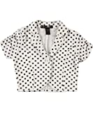 "Eye Candy ""Dotted & Ruched"" S/S Bolero (Sizes 2T - 4T)"