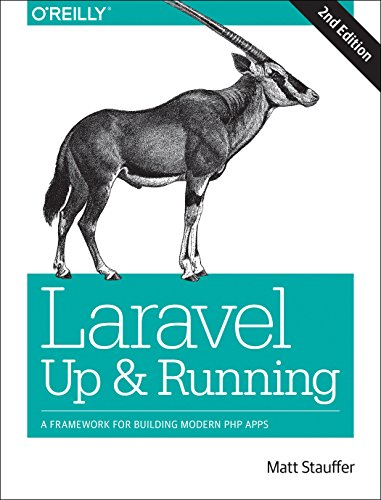 Laravel: Up and Running: A Framework for Building Modern PHP Apps [Stauffer, Matt] (Tapa Blanda)