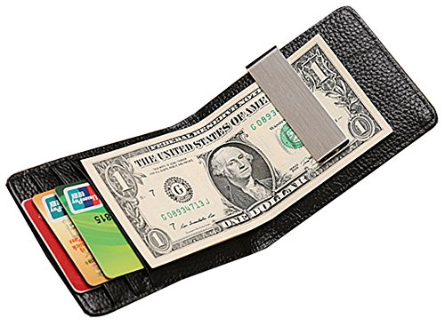 Marshel Wallet With Money Clip Black AX-CC017-BK (Batman Batarang Money Clip compare prices)
