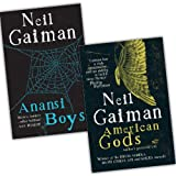 Neil Gaiman Neil Gaiman 2 Books Collection Pack Set RRP: £15.98 (American Gods, Anansi Boys)