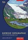 Diercke Geographie - Ausgabe 2008 Sachsen-Anhalt: Arbeitsheft 5 / 6