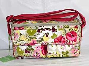 Vera Bradley Mini Cooler Lunch Box in Make Me Blush