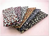 Pack of 6 Leopard Animal Print Stretchy Hair Band for Women or Girl Fashion Accessories