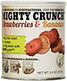 Mighty Crunch, Freeze-dried Fruit Snacks-6-Pack-18 Cups, 16 Ounces, 454 Grams