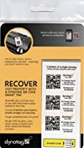 Dynotag® Web/GPS Enabled QR Code Smart Tags - Ready to Use, 30 Sticker Set (10 dynotags x 3 Stickers each)