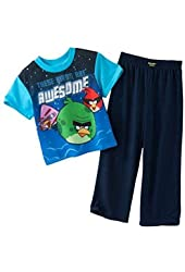 "Angry Birds ""These Birds are Awesome"" Boys Pajama, Sizes 4-10"