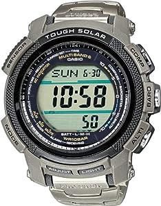 Casio Pro Trek Triple Sensor Reloj de Pulsera para hombres Multiband 6 & Solar
