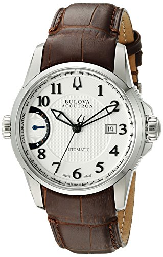 Bulova-Mens-63B160-Calibrator-Analog-Display-Swiss-Automatic-Brown-Watch