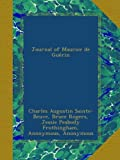 Journal of Maurice de Guerin