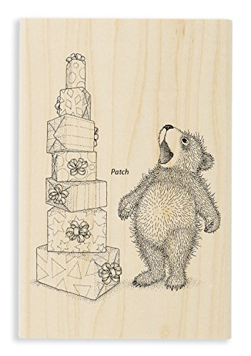 Stampendous Stacked Gifts Rubber Stamp