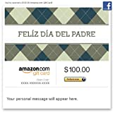 Amazon Gift Card - Facebook - Feliz Dia del Padre (Argyle)