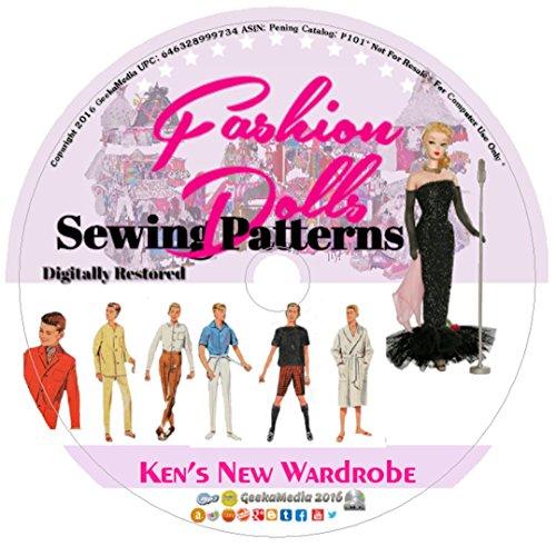 Ken's New Wardrobe: Sewing Patterns Barbie's Boyfriend P101 (Sewing Patterns Barbie compare prices)