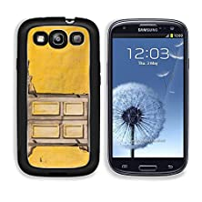 buy Msd Samsung Galaxy S3 Aluminum Plate Bumper Snap Case Vintage Windows On Old Yellow Brick Wall Image 21015302