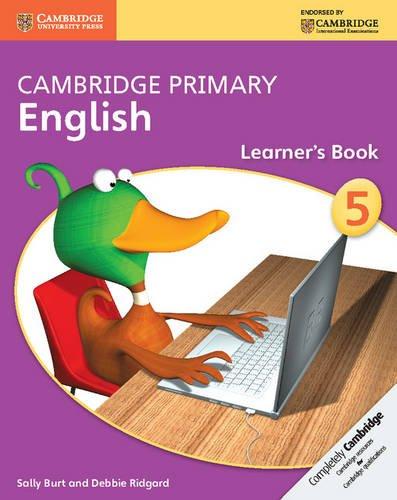 Cambridge Primary English Stage 5 Learner's Book (Cambridge International Examinations)