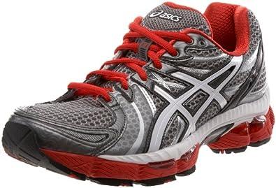 (顶级)ASICS GEL-Nimbus13爱世克斯男子I.G.S缓震慢跑鞋White/Black/Roya$84.9
