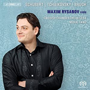 Plays Schubert Tchaikovsky Bruch