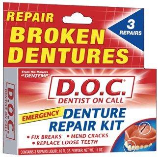 doc denture reline kit instructions