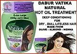Dabur Vatika Naturals Deep Conditioning Hot Oil Treatment, 1000 Grams