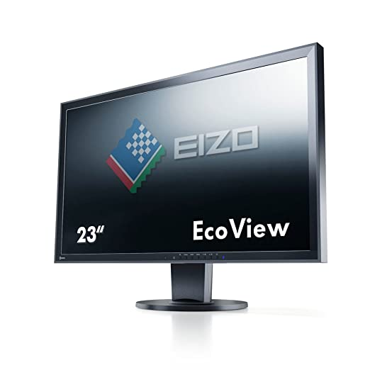 Eizo FlexScan EV2336W-FSBK Ecran PC LED 23'' (58,4 cm) 1920x1080 6 ms Display Port/DVI-D24 Broches