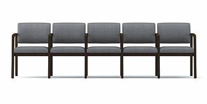 Lesro L5103G5 Lenox Series 5 Seat Sofa with Center Arms