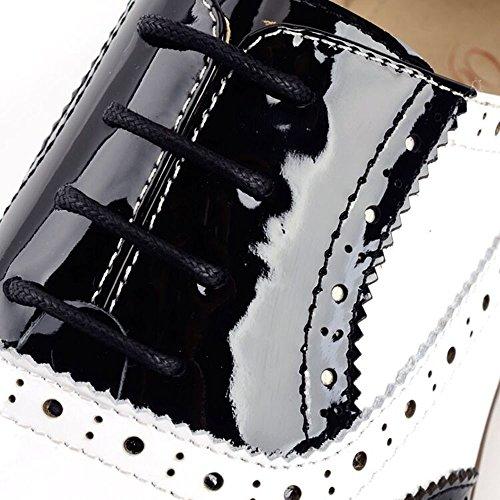 Women Oxford leather shoes E235 (8 B(M)US, A)