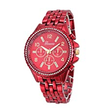buy Wensltd Clearance Sale! Women Luxury Stainless Steel Watch