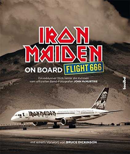 Iron-Maiden-On-Board-Flight-666-Das-offizielle-Buch