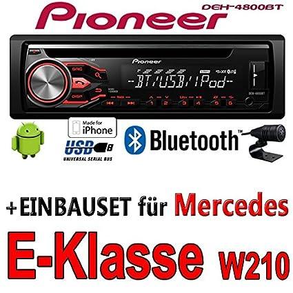 Mercedes-benz classe e w210 pioneer dEH - 4800BT-cD/mP3/uSB avec kit de montage