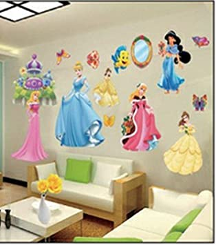 Stickers muraux chambre princesse - Stickers geant chambre fille ...