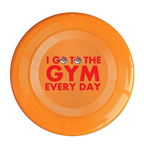 Starwood I Go To The Gym Every Day 150 Gram Ultimate Sport Disc Frisbee Orange