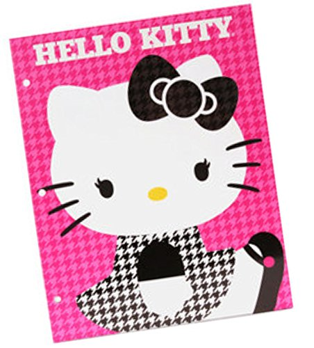 Hello Kitty Portfolio Folder (Pink Pattern) - 1