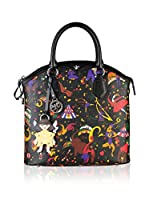 Piero Guidi Bolso asa de mano Magic Circus (Negro)