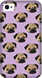 'Pug Life' Design iPhone 4 4s Case Cover by Katie Reed - 3D Full Wrap Design