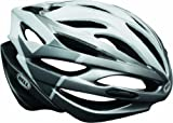 Bell Array Helmet - White/Silver Velocity, Medium