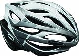 Bell Array Helmet - White/Silver Velocity, Large