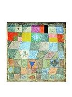 Especial Arte Lienzo Partita amichevole - Klee Paul Multicolor