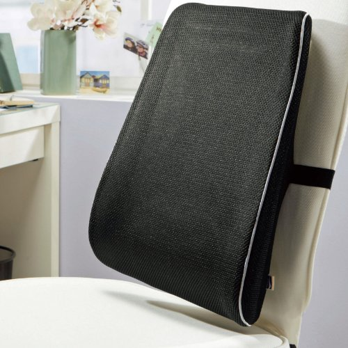 High Lumbar Support Cushion - Ease Strain over the whole Back Area - Sit for Hours Comfortably