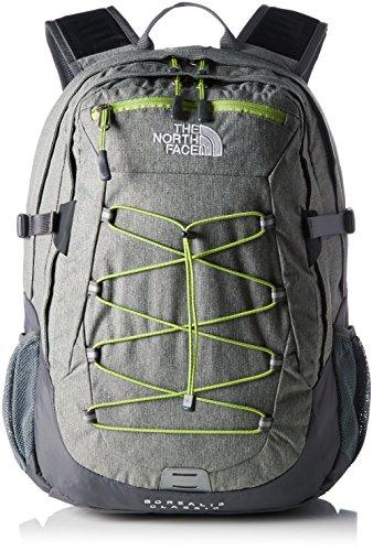 north-face-borealis-classic-mochila-unisex-color-gris-verde-talla-unica
