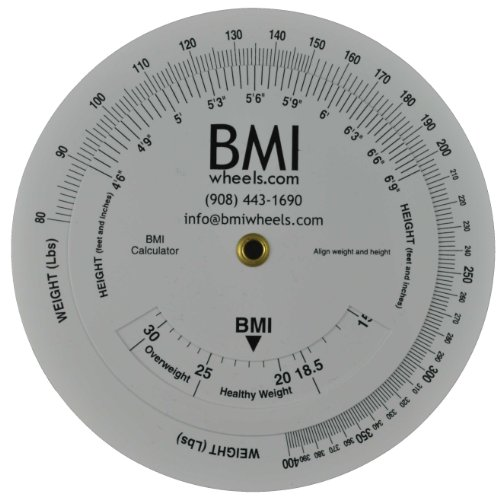 Buy Low Price Bmi Wheel Calculator 4 25 80 400lbs