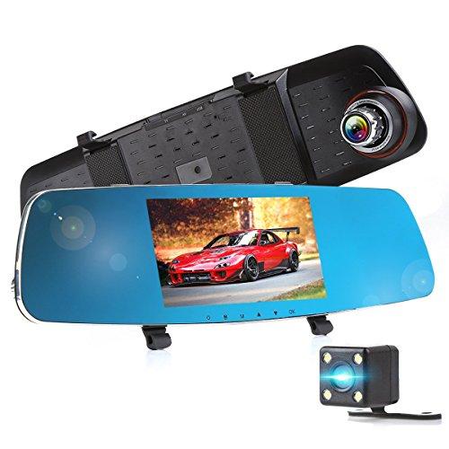 Telecamera auto crenova dual telecamera per auto dashcam for Telecamera amazon