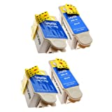 2 Sets = 4 Kodak 30 XL Compatible Printer Ink Cartridges for Kodak Easy share ESP C100 C110 C115 C300 C310 C315 C330 C360 ESP Office 2100 2150 2170 Kodak Hero 3.1 5.1 ALL-In-One wireless Printers (2x Black, 2x colour) - Same Day Post, High Capacity, Best