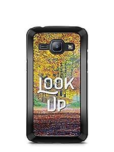 YuBingo Look Up Designer Mobile Case Back Cover for Samsung Galaxy J1