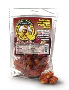 Free Range Chicken Breast Wraps w/ Apple Dog Chew Treats, 12oz